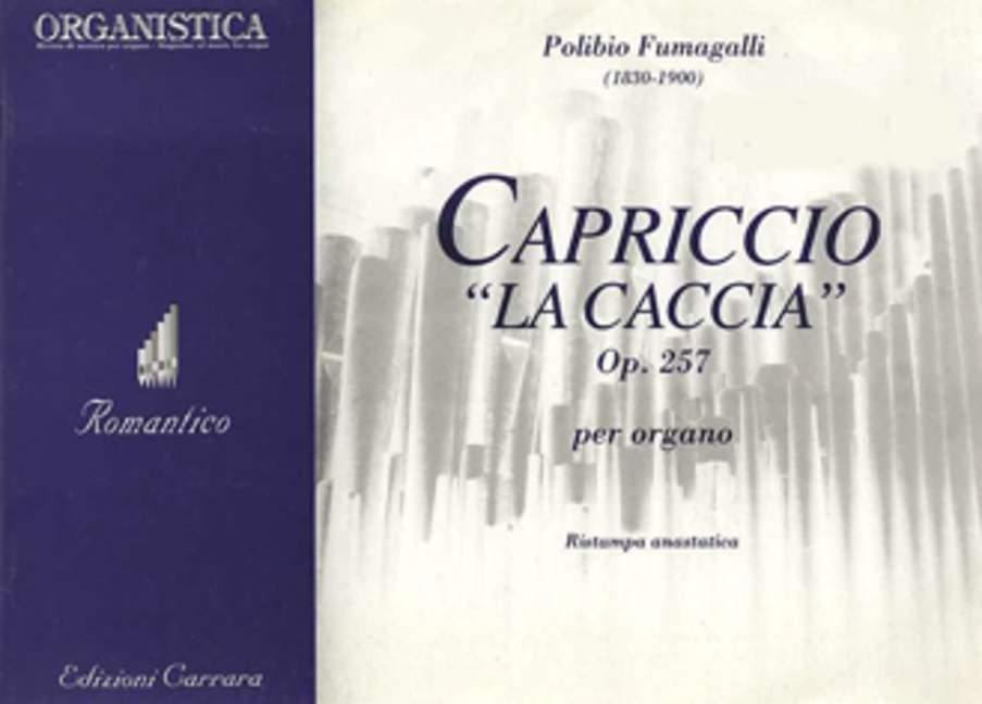 Capriccio La Caccia Op. 257 Fumagalli, Polibio Organ 9790215745803 Zorgvuldige Verfprocessen